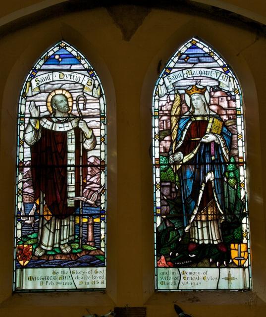 St Dyfrig and St Margaret