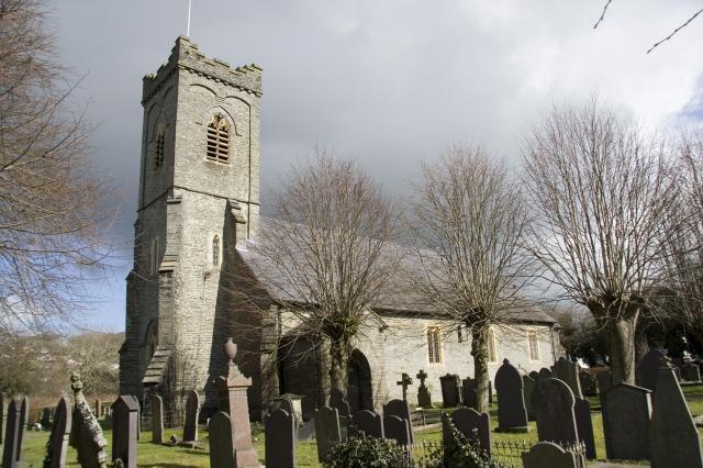 Church of the Holy Trinity, Newcastle Emlyn, Carmarthenshire _MG_0492.jpg Photo © Martin Crampin, Imaging the Bible in Wales