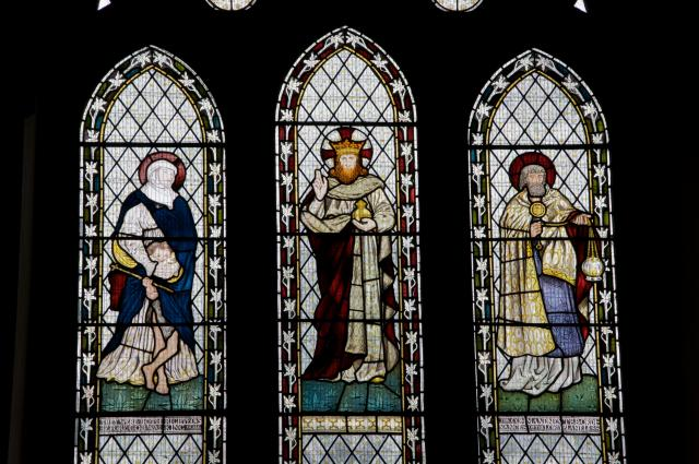 Christ with Elizabeth, John the Baptist and Zechariah