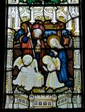The Nativity: Crucifixion with the Virgin Mary and St John