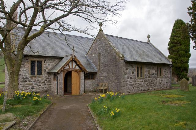 Church of St Tysilio, Bryneglwys, Denbighshire Bryneglwys_DSC0345.jpg Photo © Martin Crampin