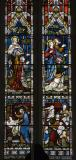The Ascension with Scenes from the New Testament