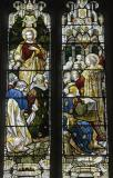 Christ with Disciples and Paul Preaching at Troas: The Risen Christ and Apostles with Scenes from Acts