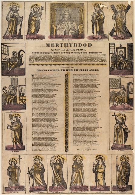 Merthyrdod y Saint a'r Apostolion