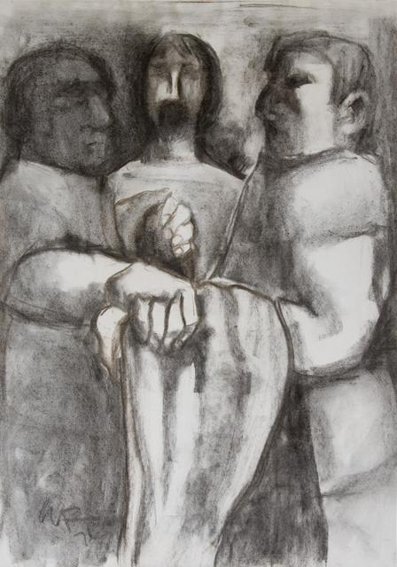 Jesus is Stripped of His Garments    from    Stations of the Cross