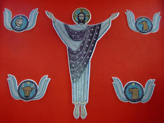 Christ with the Symbols of the Four Evangelists