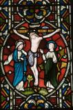 The Crucifixion with the Virgin Mary and St John: Scenes from the Passion and Resurrection of Christ