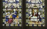The Baptism of Cornelius and the Supper at Emmaus: Angels with the Baptism of Cornelius and the Supper at Emmaus