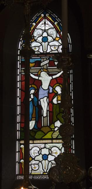 The Crucifixion with the Virgin Mary and St John    from    Scenes from the Passion of Christ