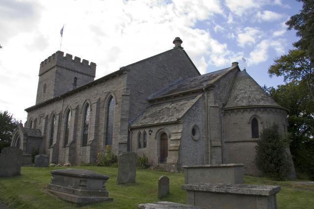 Church of St Mary, Hay-on-Wye, Powys _MG_7916.jpg Photo © Martin Crampin