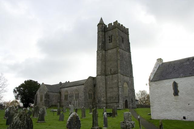 Church of St Mary, Carew Cheriton, Pembrokeshire _MG_8739.jpg Photo © Martin Crampin, Imaging the Bible in Wales