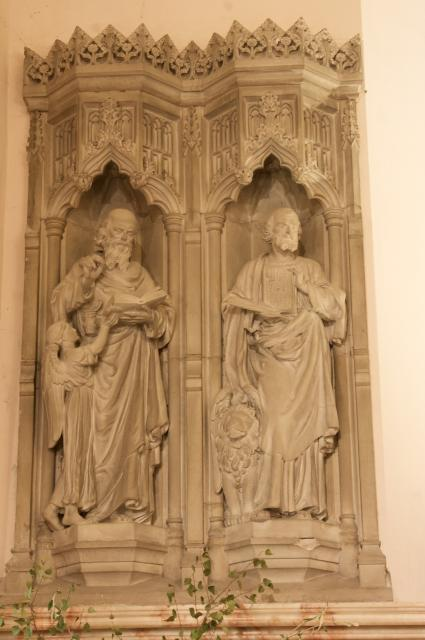 St Matthew the Evangelist and St Mark the Evangelist    from    The Four Evangelists