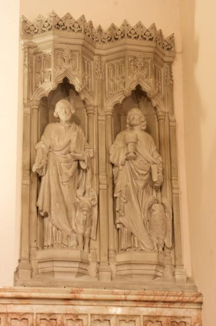 St Luke the Evangelist and St John the Evangelist    from    The Four Evangelists