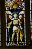 St Michael: Christ in Majesty with Saints and Angels