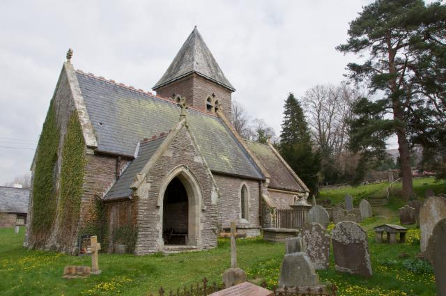 Church of St Michael, Cathedine, Brecknockshire Cathedine_DSC0576.jpg Photo © Martin Crampin, Friends of Friendless Churches