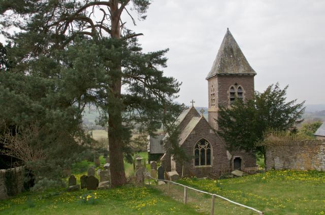 Church of St Michael, Cathedine, Brecknockshire Cathedine_DSC0602.jpg Photo © Martin Crampin, Friends of Friendless Churches