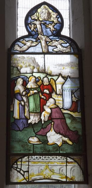 Abraham Kneels Before the Three Angels