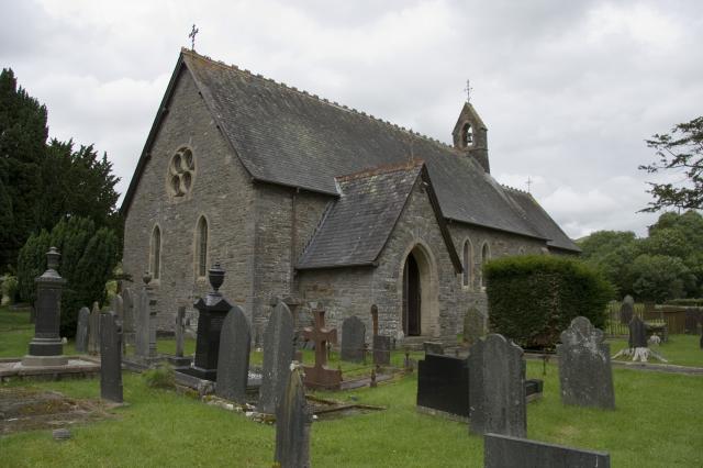Church of St Hilary, Trefilan, Ceredigion _MG_6506.jpg Photo © Martin Crampin, Imaging the Bible in Wales
