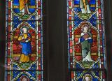 St Batholomew and St Matthew: The Twelve Apostles