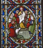 The Election of Matthias as One of the Twelve: Scenes from the Passion and Resurrection of Christ, and the Acts of the Apostles