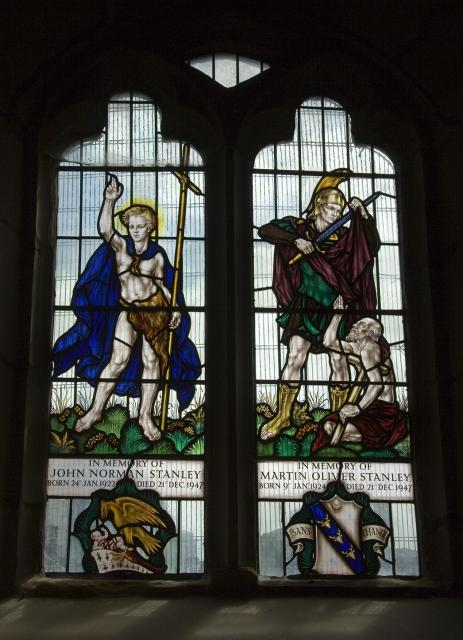 St John the Baptist and St Martin Dividing his Cloak