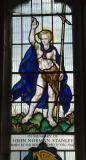 St John the Baptist: St John the Baptist and St Martin Dividing his Cloak