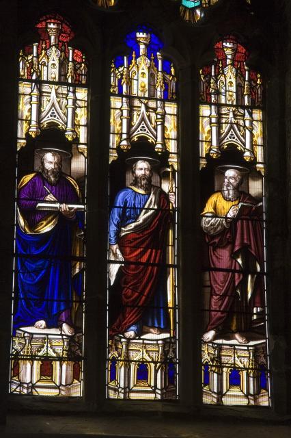 St Luke, St Matthew and St Mark