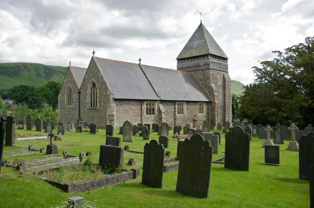 Church of St Llonio, Llandinam, Powys Llandinam_MG_0390A.jpg Photo © Martin Crampin, Imaging the Bible in Wales