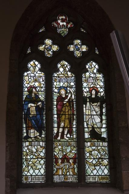 The Prophets praise Thee    from    Te Deum Windows