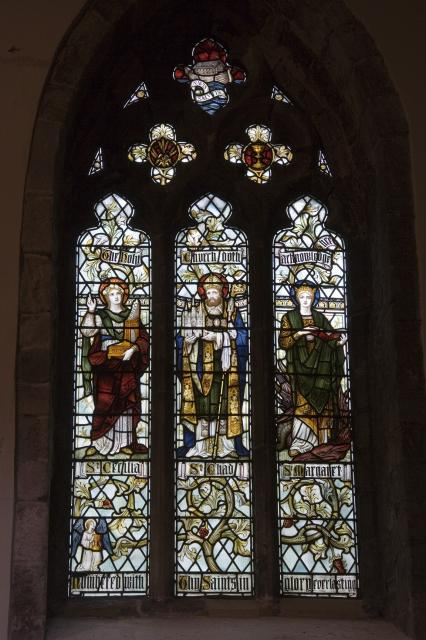 The Holy Church doth acknowledge Thee    from    Te Deum Windows