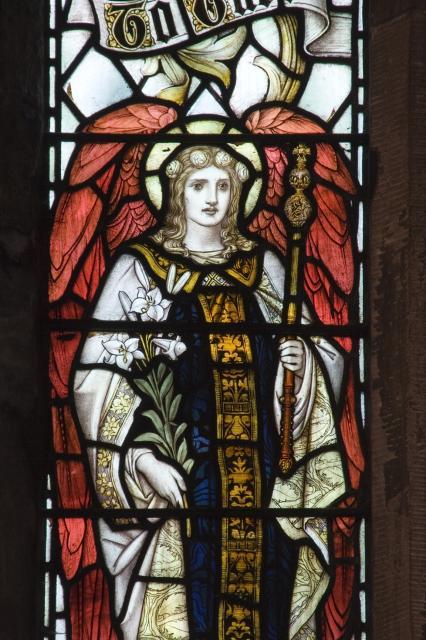St Gabriel    from    Te Deum Windows