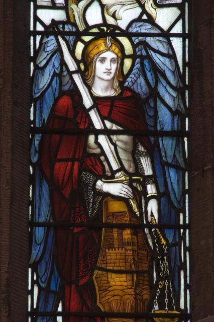 St Michael    from    Te Deum Windows