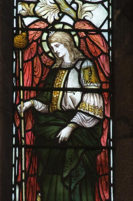 St Raphael    from    Te Deum Windows