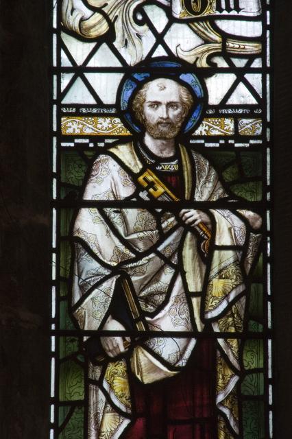 St Peter    from    Te Deum Windows