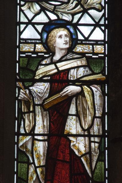 St John    from    Te Deum Windows