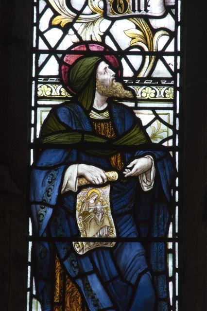 Isaiah    from    Te Deum Windows