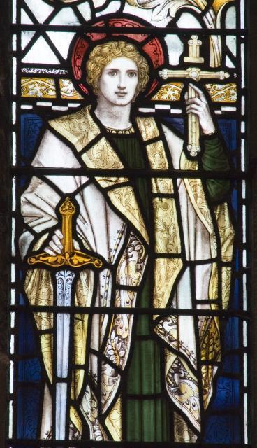 St Alban    from    Te Deum Windows
