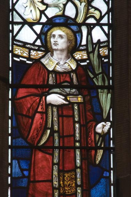 St Stephen    from    Te Deum Windows