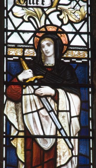St Winefride    from    Te Deum Windows
