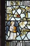 Angel Holding a Baptismal Font: The Holy Church doth acknowledge Thee