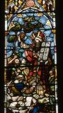 Moses with the Ten Commandments: Christ in Majesty with Scenes from the Bible
