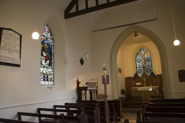 Church of St Peter, Llandevaud, Newport _MG_0705.jpg Photo © Martin Crampin, Imaging the Bible in Wales
