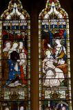 The Three Marys are Addressed by Two Angels at the Empty Tomb: Scenes from the Gospels