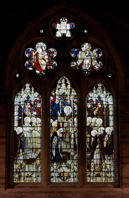 Christ Receiving Queen Victoria with Angels