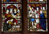 Christ is Anointed and Apostles Healing the Sick: Scenes from the New Testament