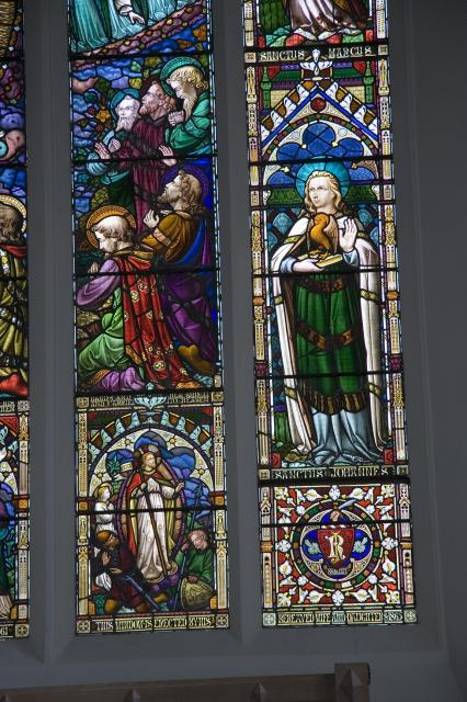 Ascension with the Four Evangelists
