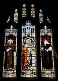 King David with St Twrog and William Williams Pantycelyn