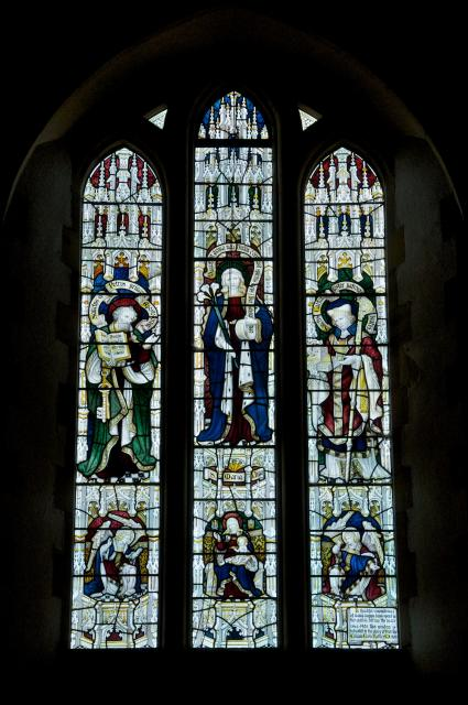 The Virgin Mary with St Peter and St Cadfan