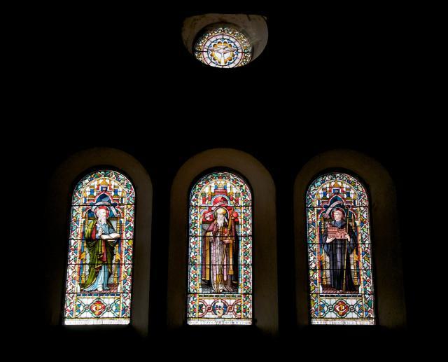 St Matthew, St David and St Cadfan