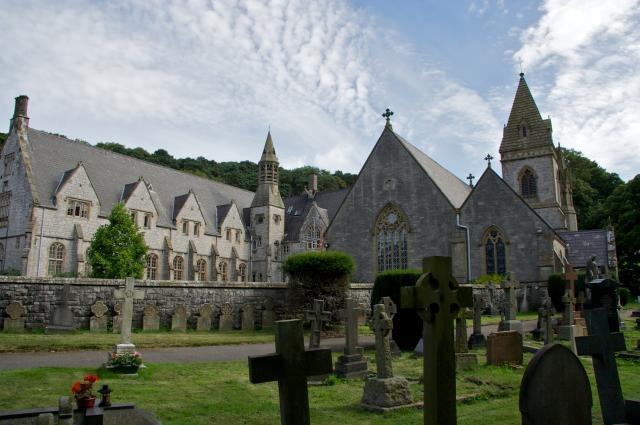 Church of St David, Pantasaph, Flintshire Pantasaph_MG_1325A.jpg Photo © Martin Crampin